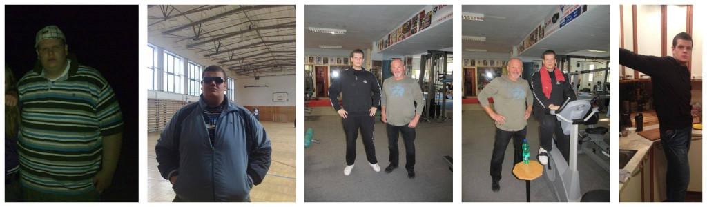 Adrián Rekoš za dva roky schudol zo 196 kg na 98 kg!