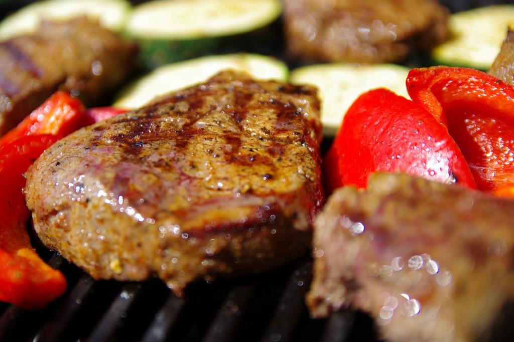 Zdravý steak obsahuje veľa bielkovín.