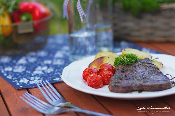 Hovädzie mäso marinované v bylinkách