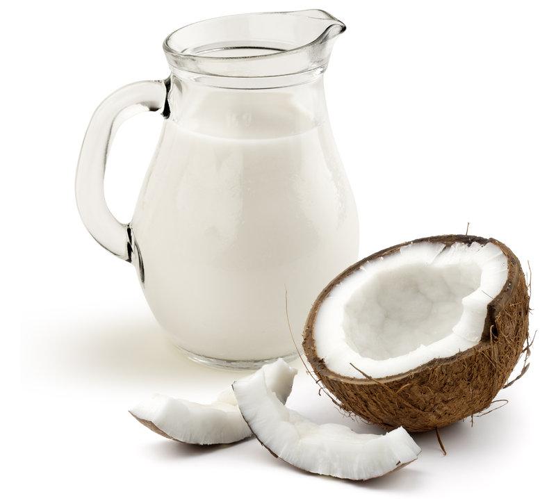 Kokosové mlieko je veľmi zdravou náhradou mlieka