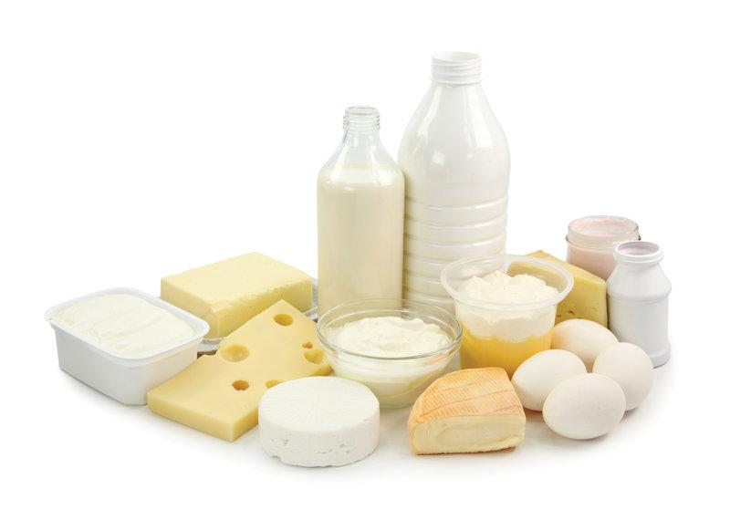 Mliečne výrobky a vajcia sú veľmi zdravé.