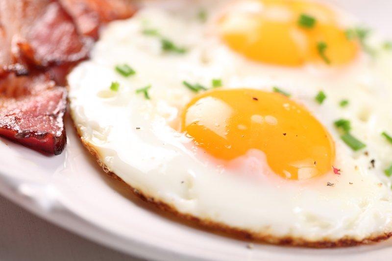 Vajcia neobsahujú žiadne sacharidy