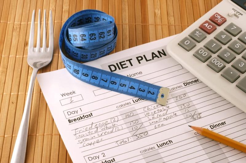 Počítanie kalórii a jedálniček