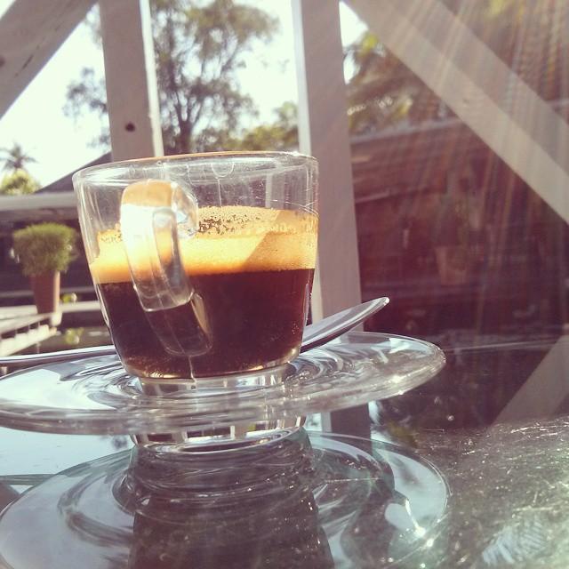 V Thajsku mali výbornú kávu skoro všade :)