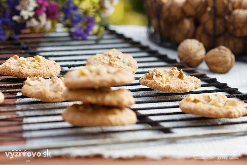 Celozrnné sušienky s javorovým sirupom
