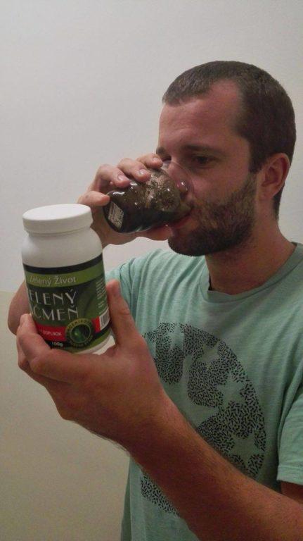 Ochutnávka zeleného jačmeňa