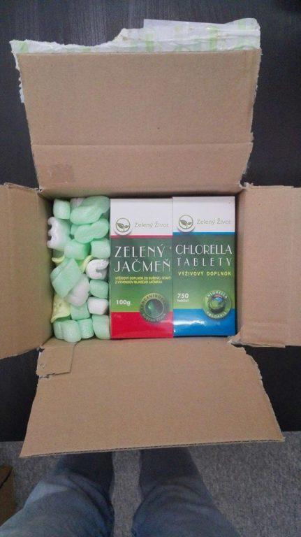 Zelená dvojka - balenie