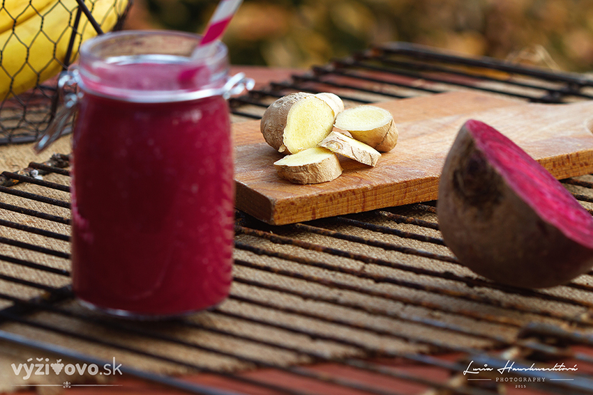 Cviklové smoothie – super detox