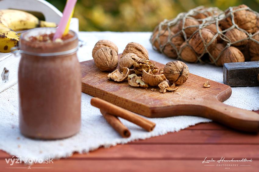 Sladké kakaové smoothie