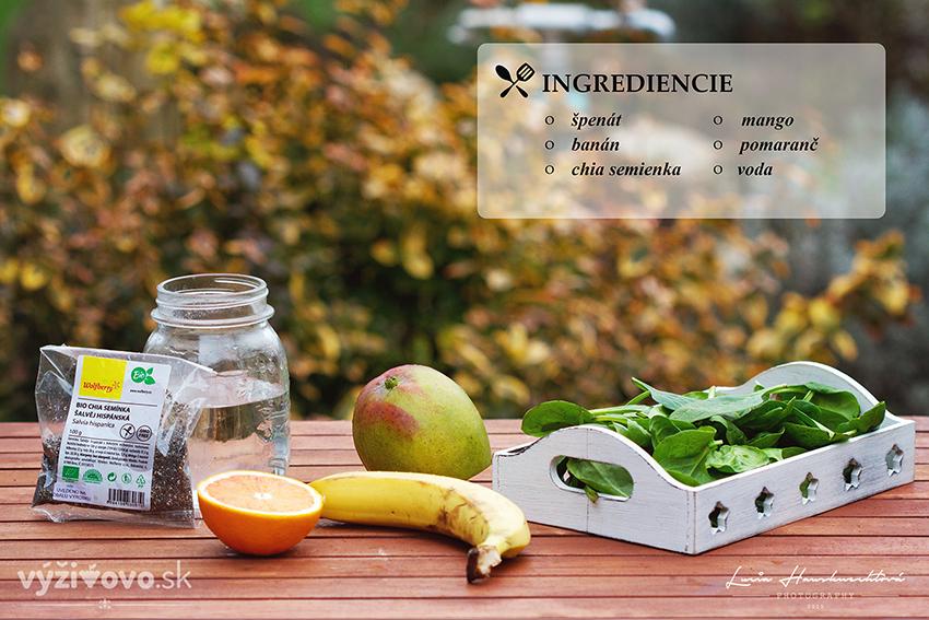 Špenátové smoothie – super detox 2