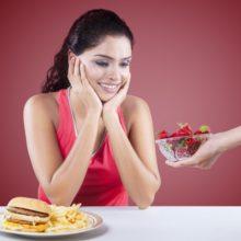 chuť na sladké a nezdravé jedlo