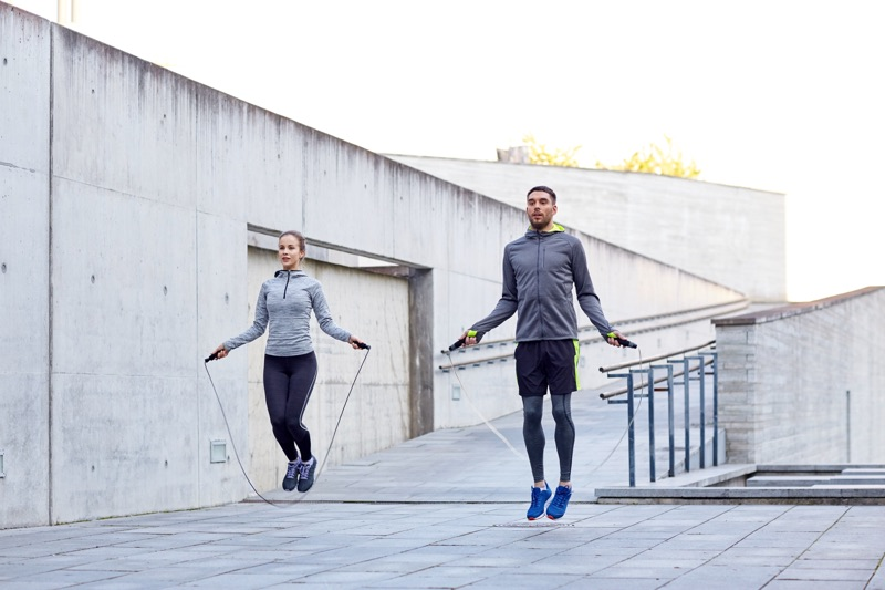 Švihadlo je rovnako dobrý aeróbny tréning ako beh