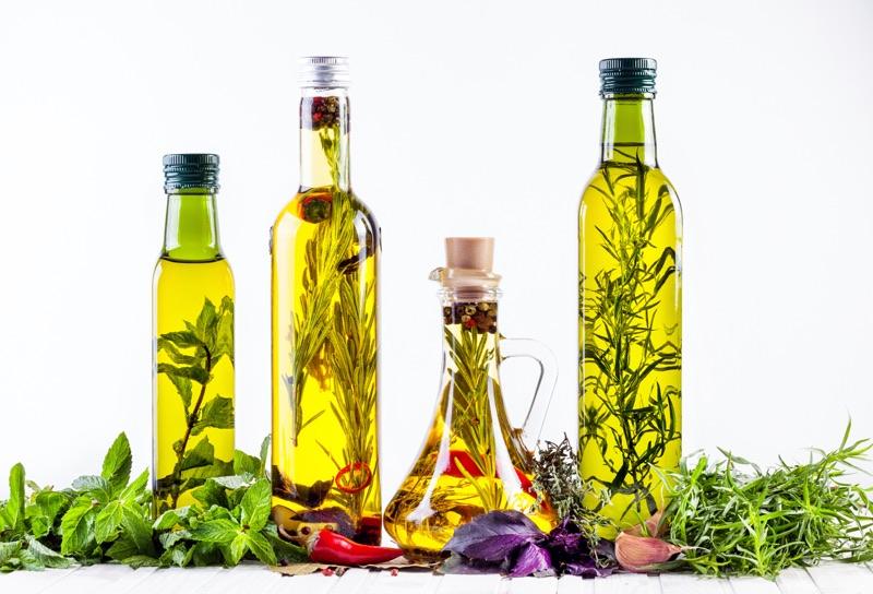 Rastlinné oleje z byliniek