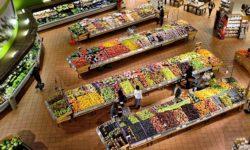 nakupovanie v supermarkete
