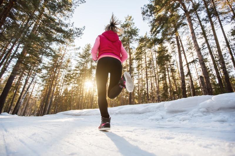 behanie v zime je zdravé