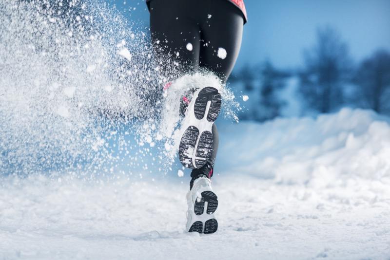 Vhodné oblečenie a obuv sú základ pre behanie v zime