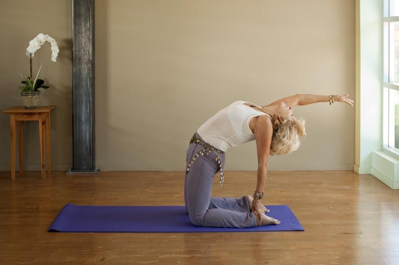 udržujte sa vo forme napríklad cvičením jógy