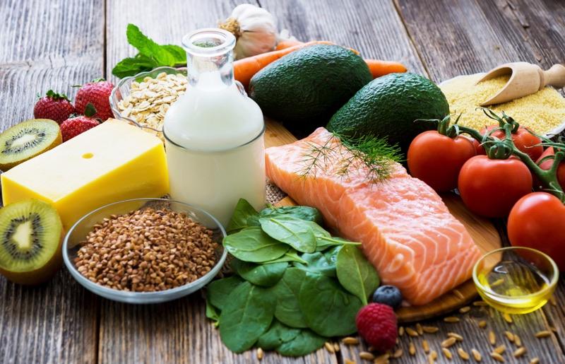 vyvážená strava je dôležitá aj v menopauze