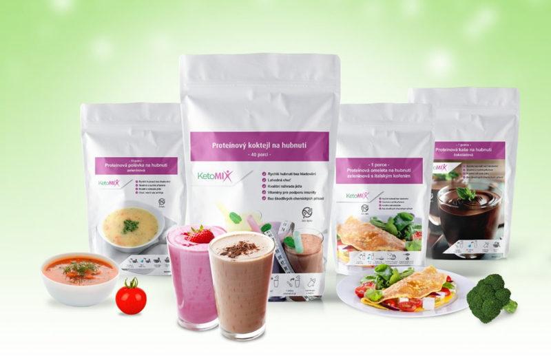 proteínová diéta KetoMIX