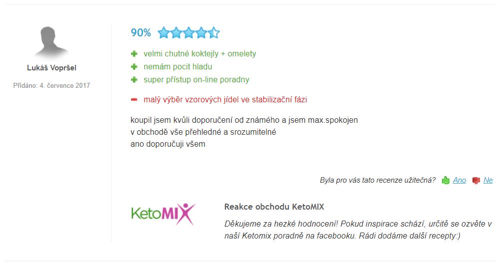 ketomix hodnotenie a skúsenosti