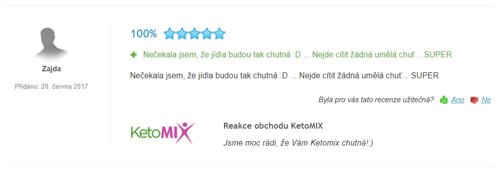 skúsenosti ketomix