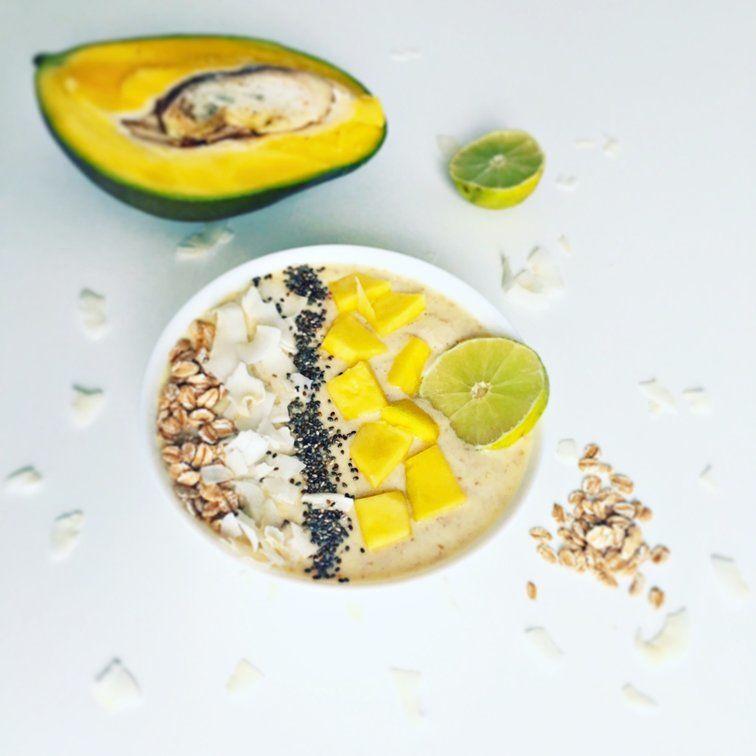 Mangová smoothie bowl s blendeou