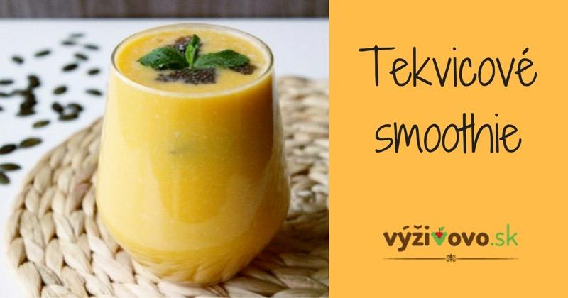 Tekvicové smoothie recept