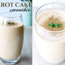 carrot cake smoothie recept