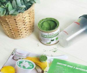 Výživový doplnok Blendea Supergreens