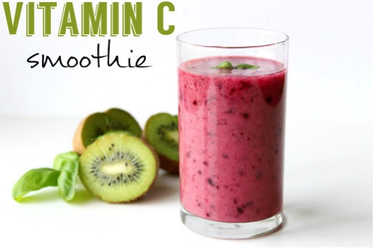Vitamín C smoothie recept