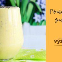 recept pomarančové smoothie s pšenom