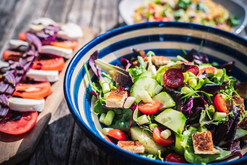 Vyvážená strava dodá telu vitamíny, dôležité pre obnovu buniek