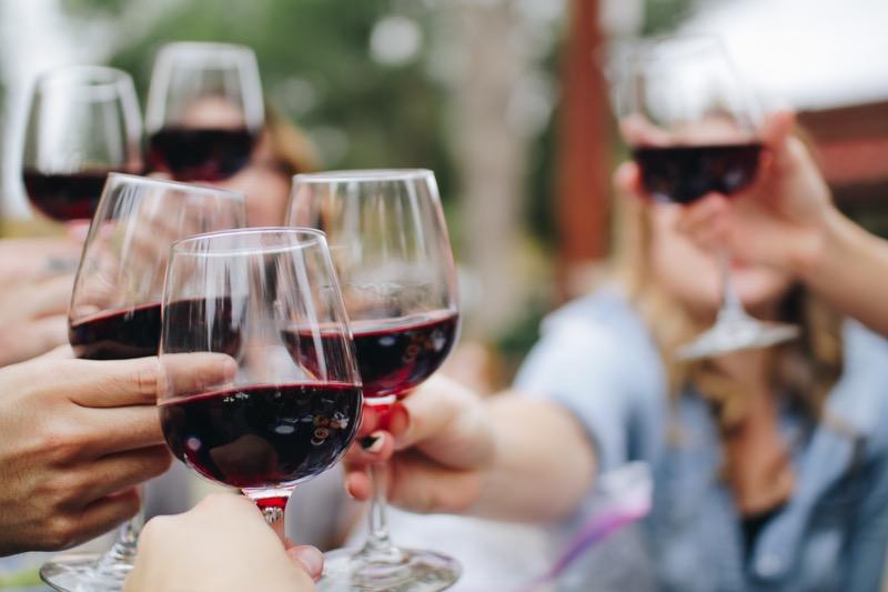 Pitie vína