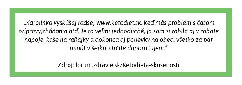 Recenzia KetoDiet od spokojnej zákazníčky