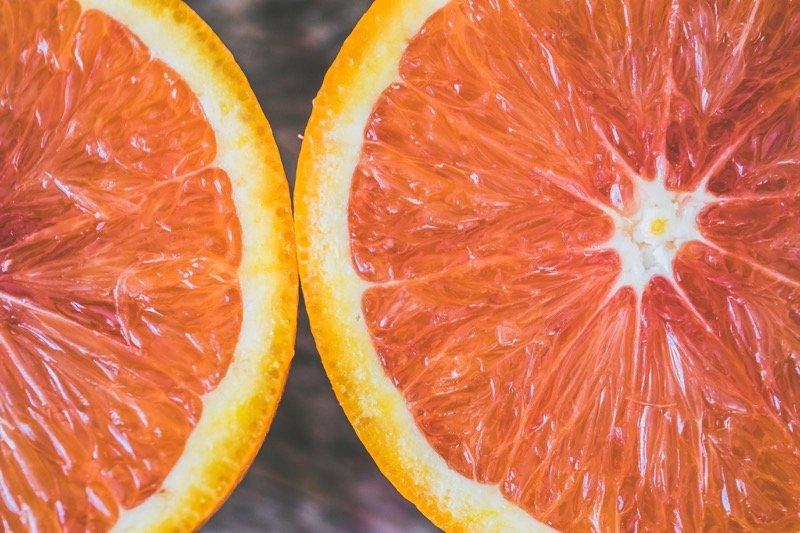 horký pomaranč synefrín