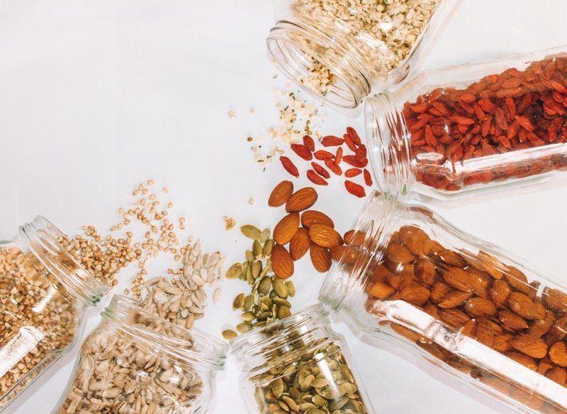 semienka obsahujú veľa vlákniny