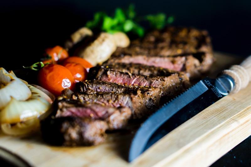 steak bielkoviny