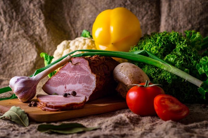 nespracované suroviny na varenie