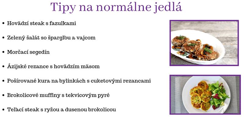 """Vzor """"normálnych"""" jedál"""