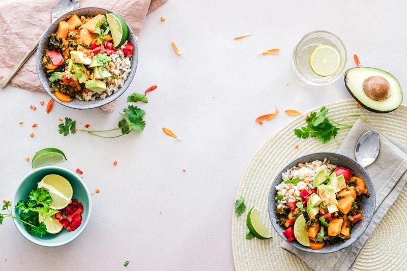 zeleninový šalát dash diéta