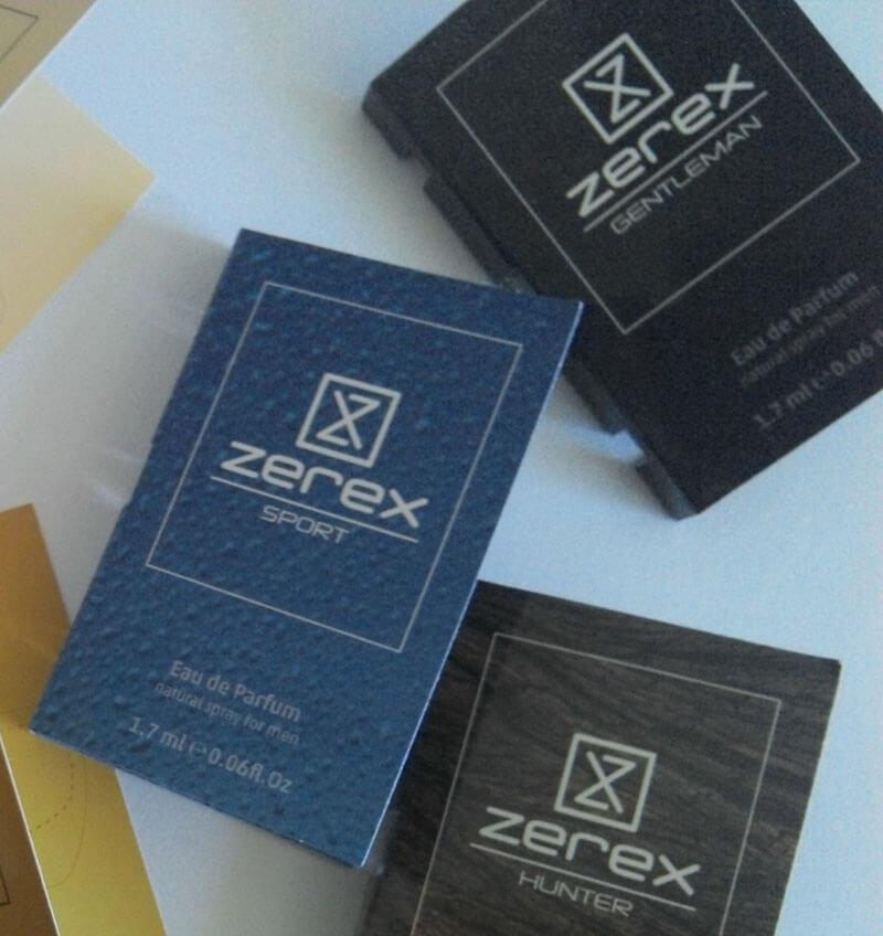 Vzorky afrodiziakálnych parfumov