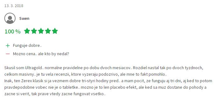 Recenzia zerex heureka