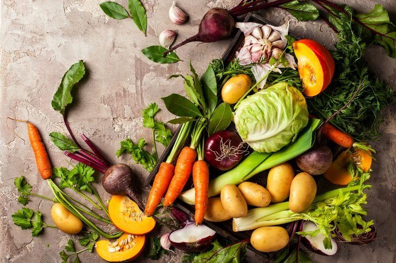 zelenina ako zdroj vlákniny