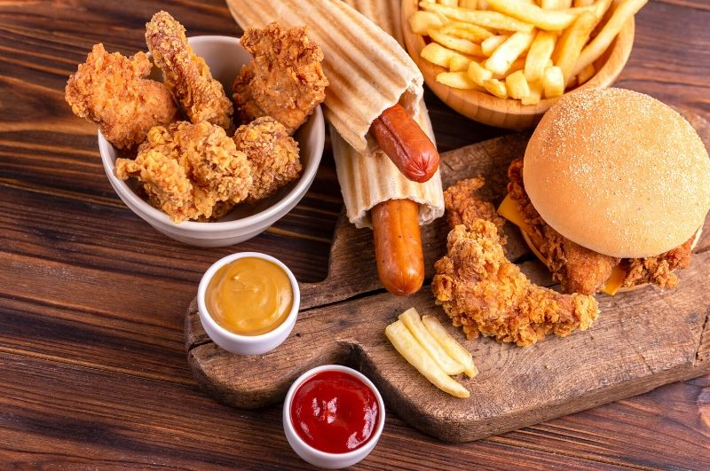 kalorické jedlo obezita