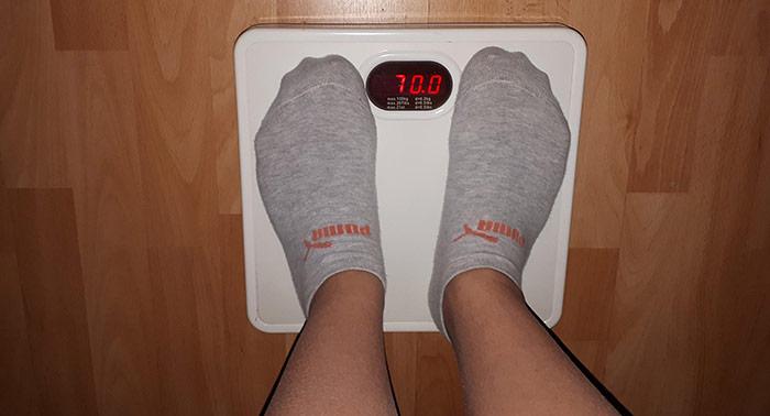 váha, váženie, chudnutie