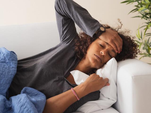 Koronavírus príznaky