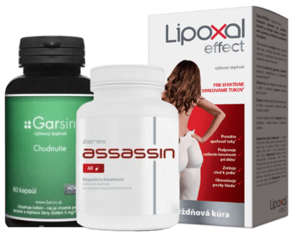 Alternatívne tabletky na chudnutie
