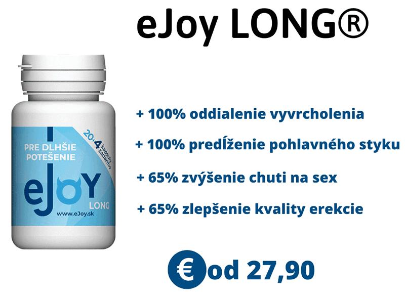 Tabletky eJoy LONG