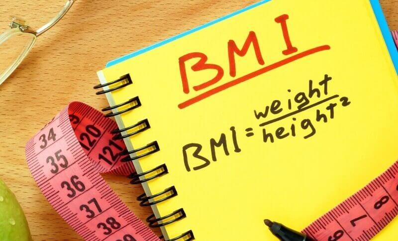 výpočet BMI indexu