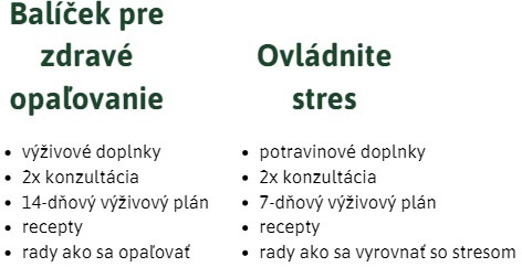 Naturhouse balíček pre zdravé opaľovanie a ovládnite stres